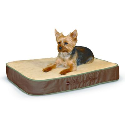 Memory Sleeper Small Pet Bed in Mocha