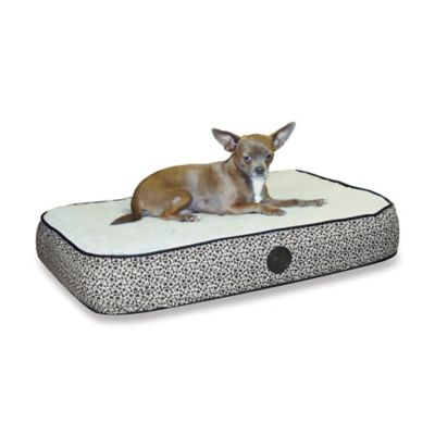 Small Superior Orthopedic Pet Bed in Grey