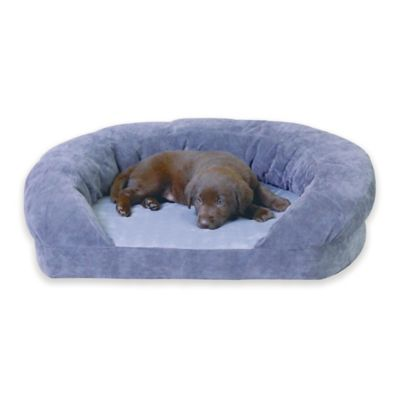 Ortho Bolster Large Pet Sleeper in Brown