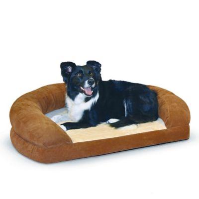 Ortho Bolster XL Pet Sleeper in Brown