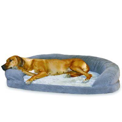 Ortho Bolster XL Pet Sleeper in Grey