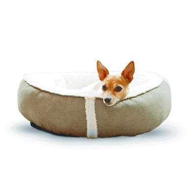 Sleepy Nest™ 18-Inch Pet Bed in Caramel/Fleece