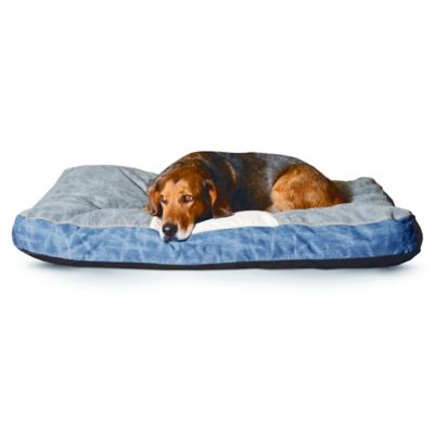 K&H 28-Inch x 38-Inch Genuine Logo Classic Pet Bed™ in Brown