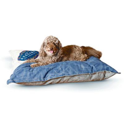 K&H 28-Inch x 38-Inch Genuine Logo Single Seam Pet Bed in Blue