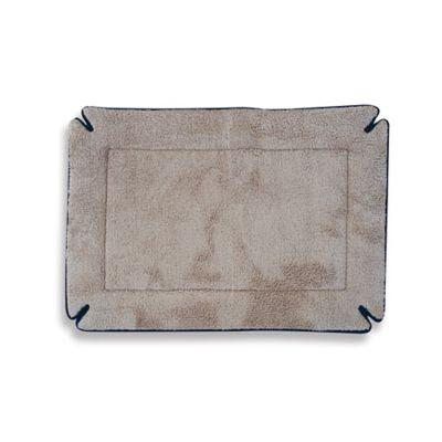 Memory Foam 14-Inch x 22-Inch Crate Pad in Mocha