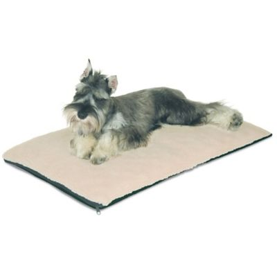 Ortho Thermo Non-Slip Large Pet Bed in Cream