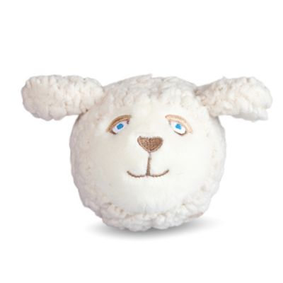 Sheep Faball Dog Toy in White