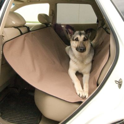 Large Car Seat Saver in Tan
