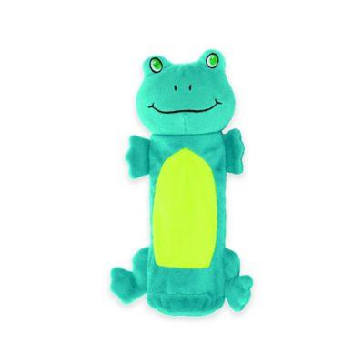 Outward Hound® Bottle Gigglers™ Frog Dog Toy in Green