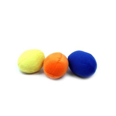 Outward Hound® 3-Pack Squeaking Eggs Dog Toy in Yellow/Orange/Blue