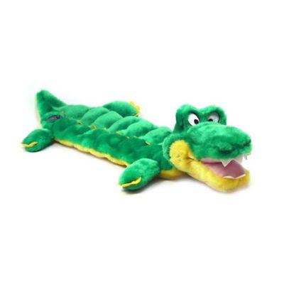 Outward Hound® Matz™ Large Gator Squeaker Dog Toy in Green