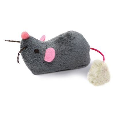 Roaming Runner™ Electronic Mouse Cat Toy in Grey