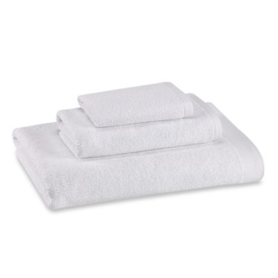 Kenneth Cole Reaction Home Cooper Bath Towel in White