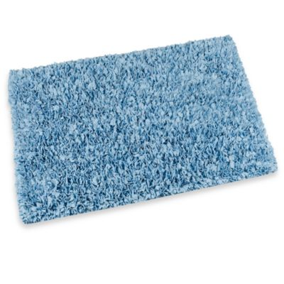 Raggy Shaggy Accent Rug in Light Blue