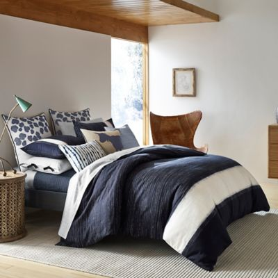 ED Ellen DeGeneres Bleu Twin Duvet Cover in Navy