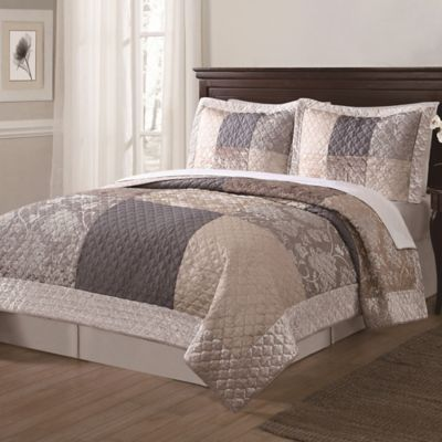 Wyndham Full/Queen Quilt Set