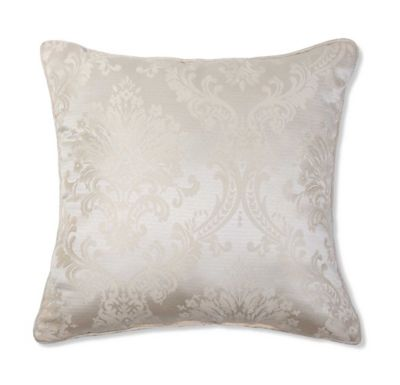 VCNY Jasmine Jacquard Throw Pillow in Ivory