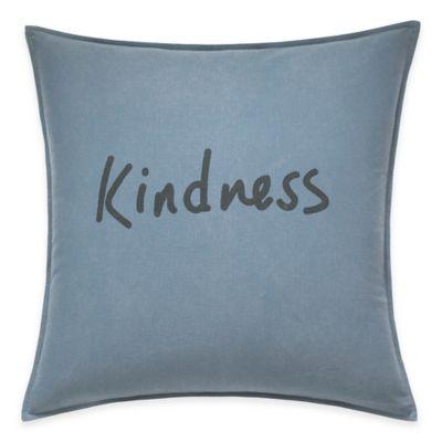 ED Ellen DeGeneres™ Kindness Throw Pillow in Chambray Blue