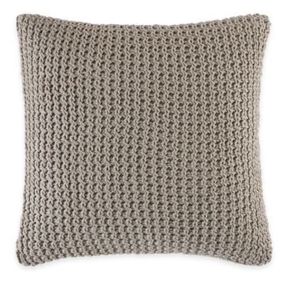 ED Ellen DeGeneres Mosaic Tile Square Throw Pillow in Stone
