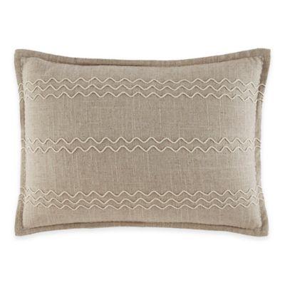 ED Ellen DeGeneres Mosaic Tile Breakfast Throw Pillow in Natural