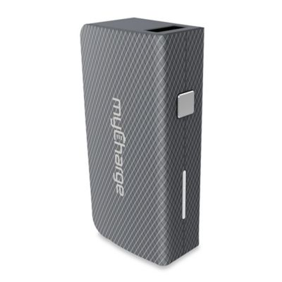 myCharge® AmpPlus 3000 mAh Portable USB Charger in Grey