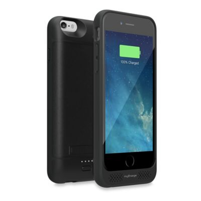myCharge® Power+Case 2800mAh Battery Case for Apple® iPhone® 6/6S in Black
