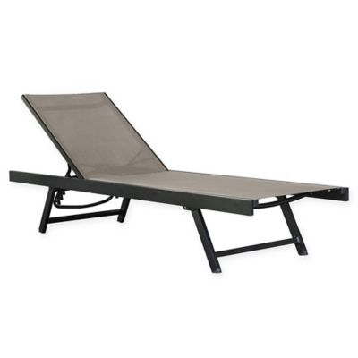 Vivere Urban Sun Lounger in Cocoa