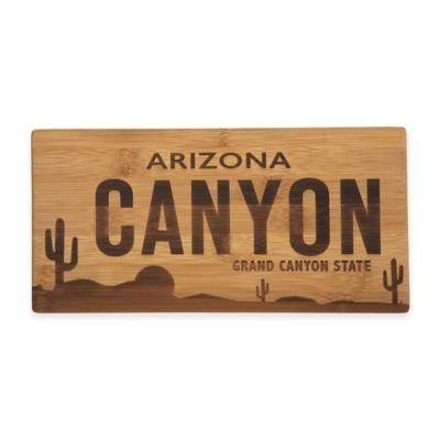 Arizona License Plate Cutting Board