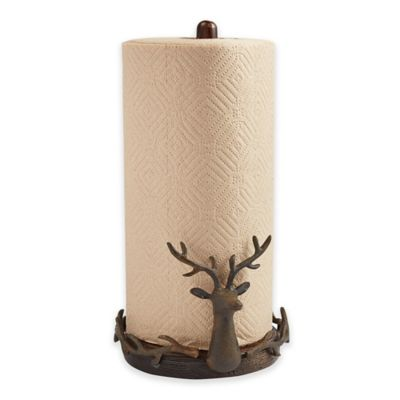 Mud Pie® Deer Paper Towel Holder
