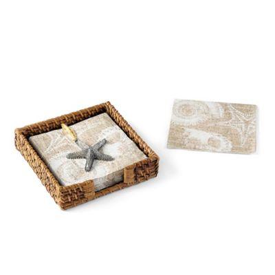 Mud Pie® Sand Dollar Napkin Basket