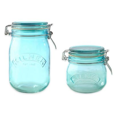 17 Oz. Round Clip Top Jar
