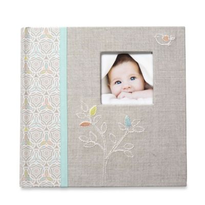 C.R. Gibson® Linen Tree Slim Bound Photo Journal Album