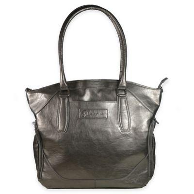 Sarah Wells® Annie Breast Pump Bag in Metallic Pewter