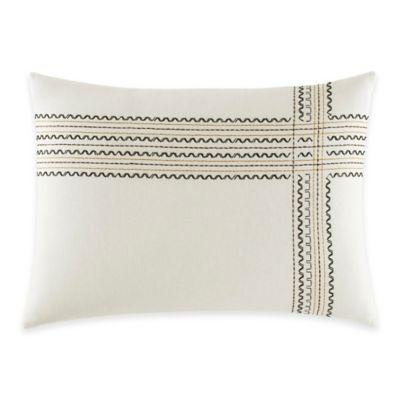ED Ellen DeGeneres Mombasa Breakfast Throw Pillow in Ivory