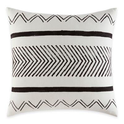 ED Ellen DeGeneres Mombasa European Pillow Sham in White