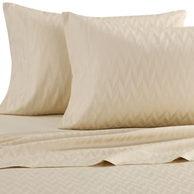Frette At Home Porto Venere Standard Pillowcase in Light Yellow
