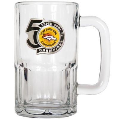 NFL Denver Broncos Super Bowl 50 Champions 20 oz. Root Beer Mug