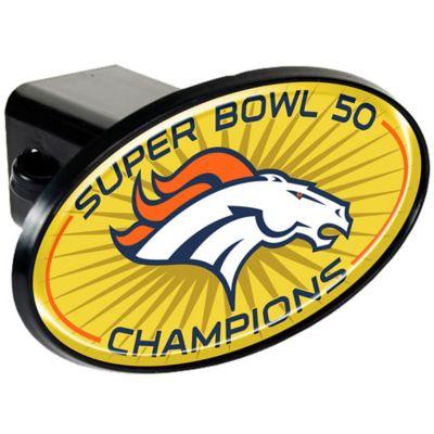 NFL Denver Broncos Super Bowl 50 Champions Trailer Hitch Cover