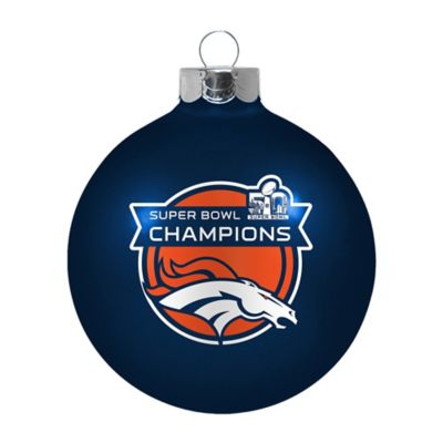 NFL Denver Broncos Super Bowl 50 Champions Large Ornament