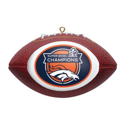 NFL Denver Broncos Super Bowl 50 Champions Football Ornament