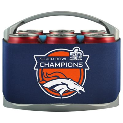 NFL Denver Broncos Super Bowl 50 Champion Cool Six Cooler