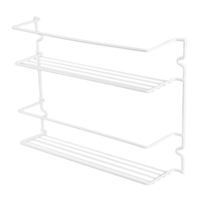 2-Shelf Spice Rack in White