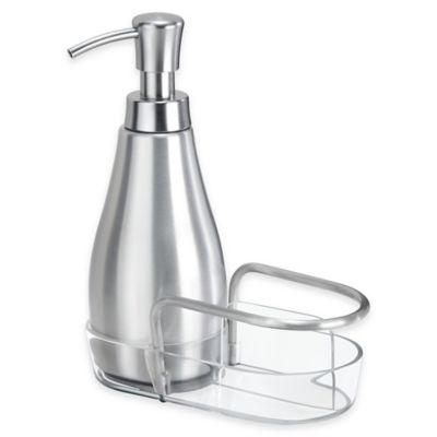InterDesign® Metro Aluminum Soap Dispenser