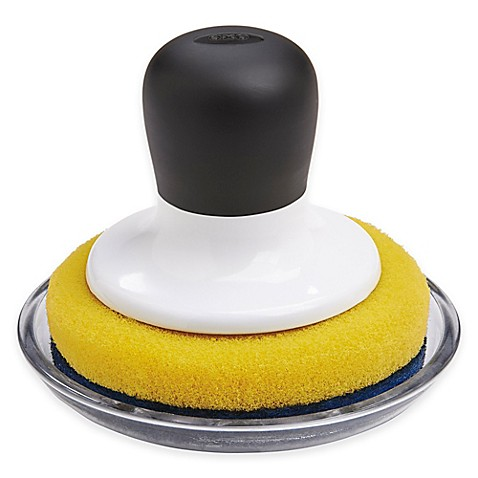 Buy Oxo Good Grips 174 Non Scratch Scrubber With Tray From