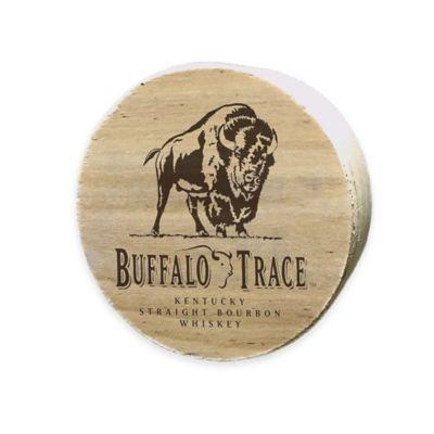 Buffalo Trace Bourbon Wood Barrel Bung Magnet