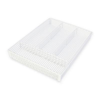 Grayline Household Organizer Tray in White