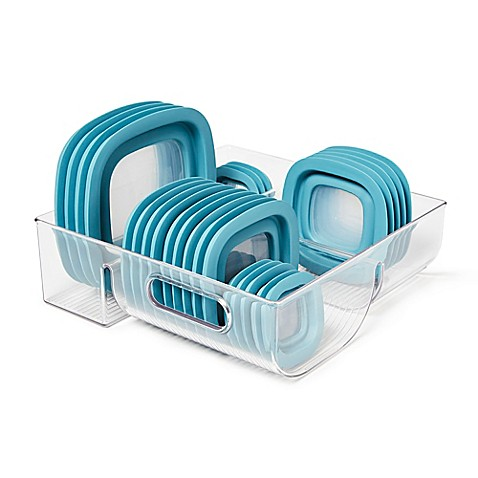 InterDesign® Cabinet Binz™ 3 Compartment Lid Organizer