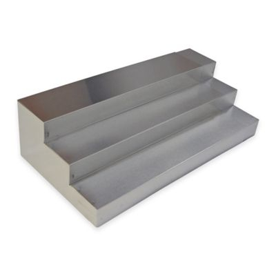 3-Tier Stainless Steel Expand-A-Drawer