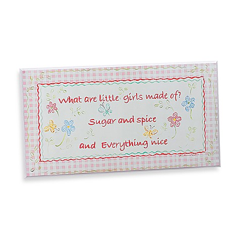 Sugar and Spice Plaque