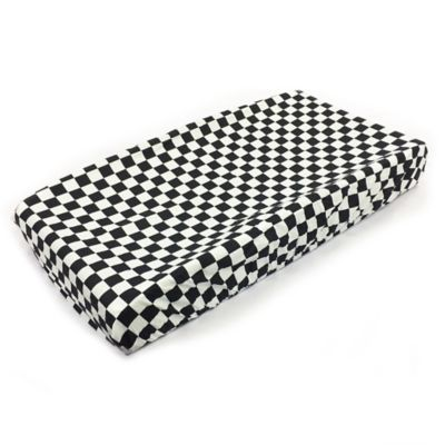 One Grace Place Teyo's Tires Checkered Flag Changing Pad Cover